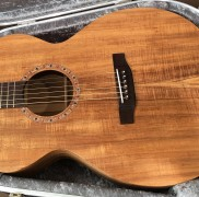Australian Blackwood Guitar Made At Hancock Luthier Course