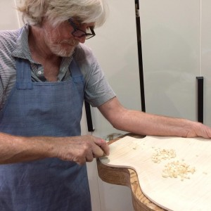 Hand Carving a Maple Arched Back