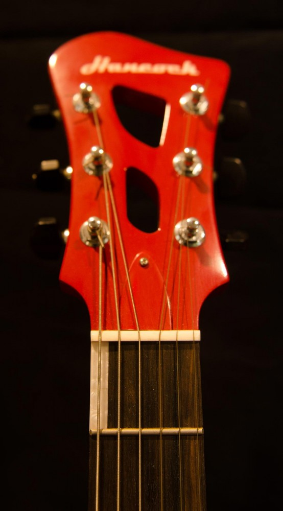 Headstock with Cutouts