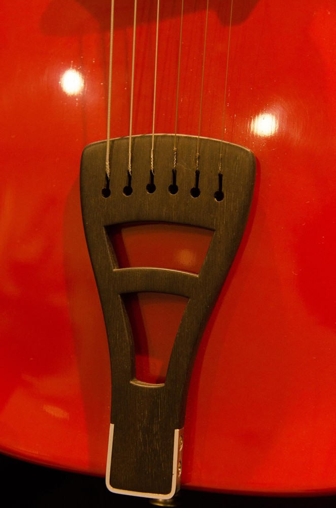 Archtop Guitar Tailpiece