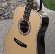 Dreadnought Guitar with Spruce Top Made at Lutherie Course