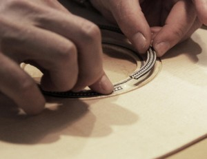 Guitar-Making-Course-Inlaying-Rosette
