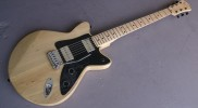 Hancock Electric Guitar with Paulownia Body and Maple Neck