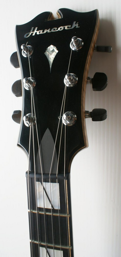 Hancock Headstock with Mother of Pearl Inlay