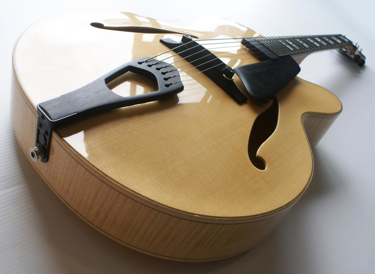 Classic Archtop with African Ebony Fittings