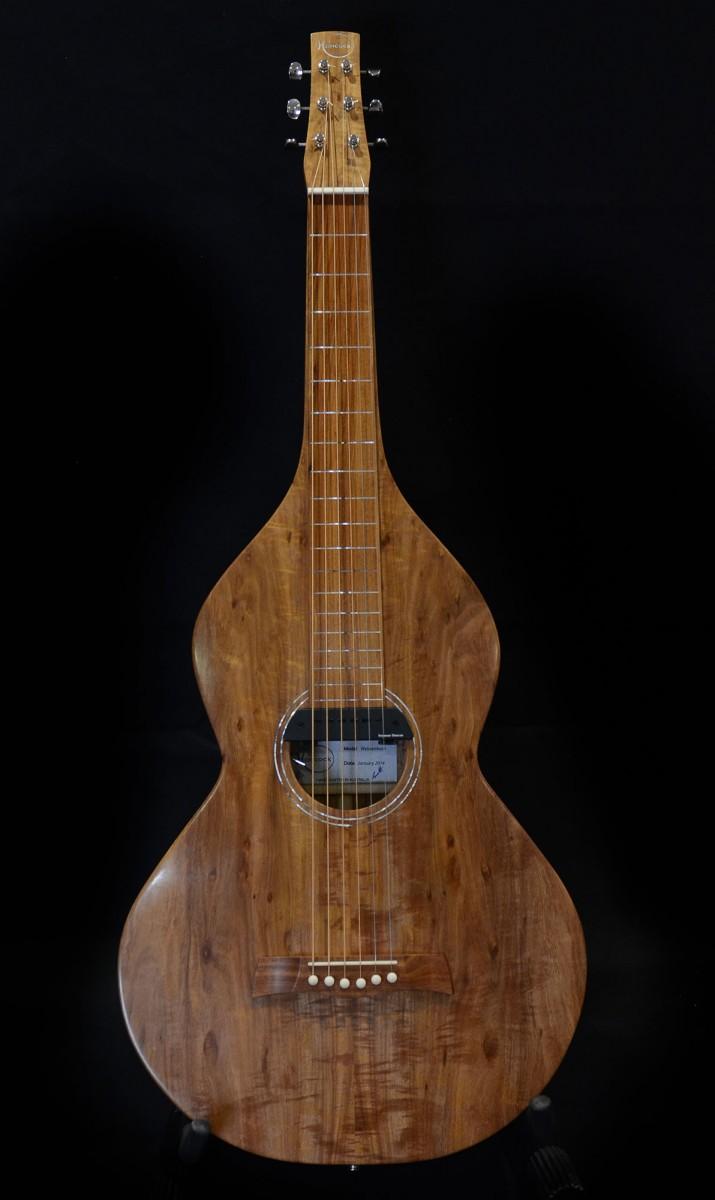 Lap Slide Guitar Front Profile