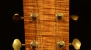 Flamed Koa Headstock