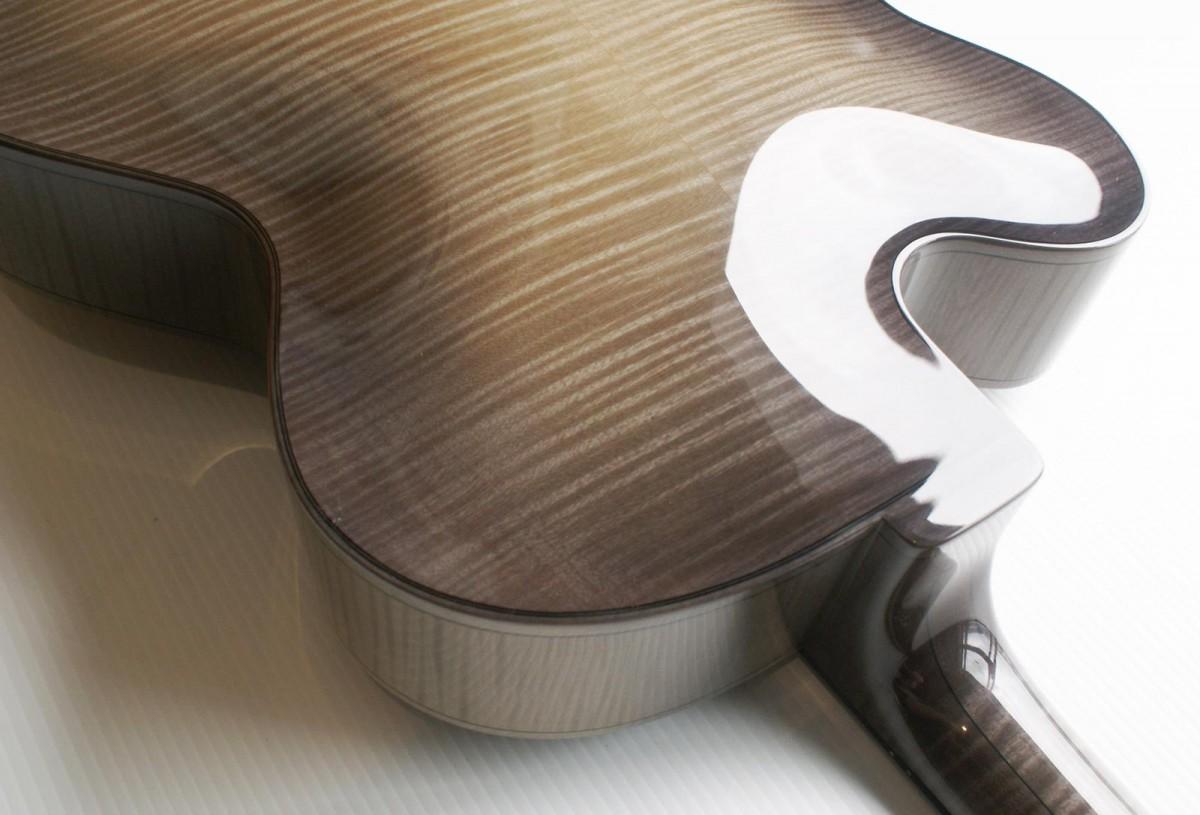 Phantom Archtop Guitar – Flamed European Maple