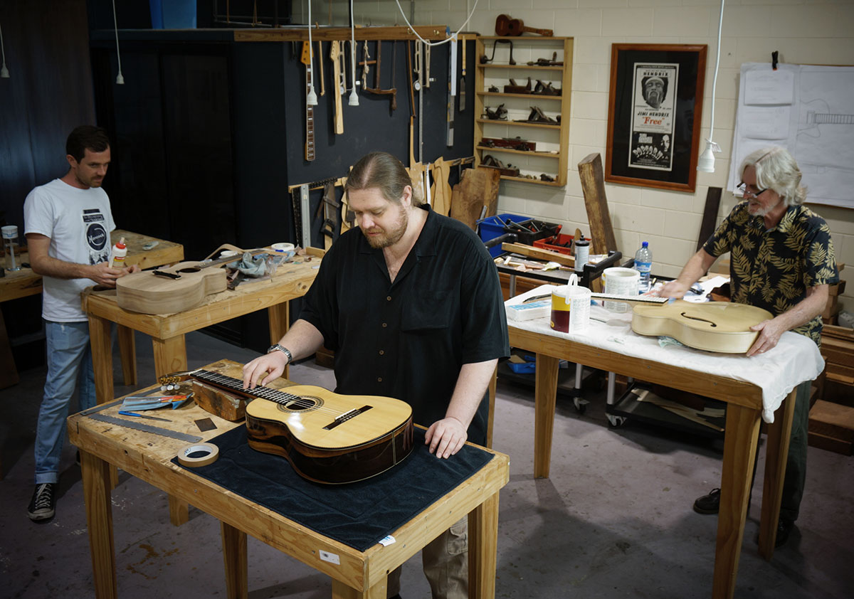 Our Traditional Luthier Workshop